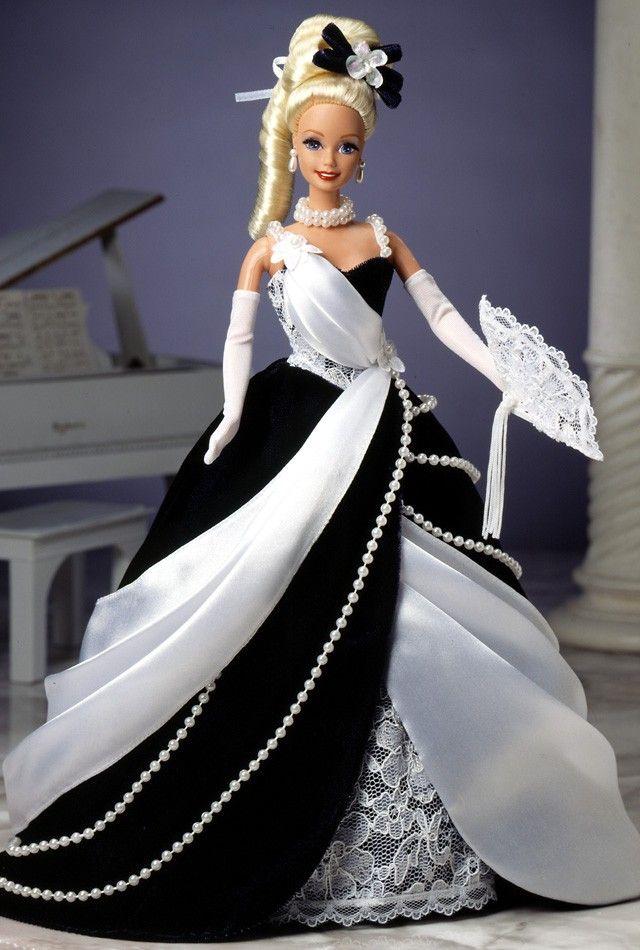 1996 Ballroom Beauties Collection ~  Midnight Waltz Barbie