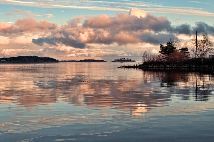 Mahone Bay in Nova Scotia. | 34 Reasons The Maritimes Is The Best Place On The Planet