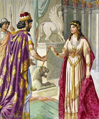 Esther 5: Esther Welcomed by Xerxes