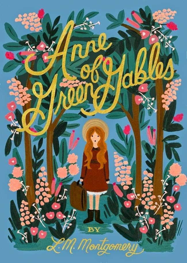 Anne of Green Gables - Puffin in Bloom - A new line of classics with gorgeously illustrated covers by Anna Bond.
