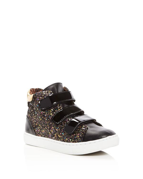 Steve Madden Girls' Jvex Glitter High Top Sneakers - Little Kid, ...