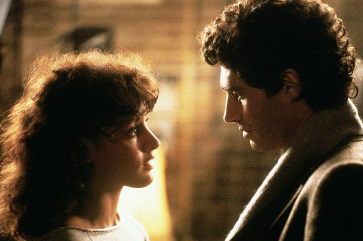 "Jennifer Beals and Michael Nouri in ""Flashdance"" (1983)"