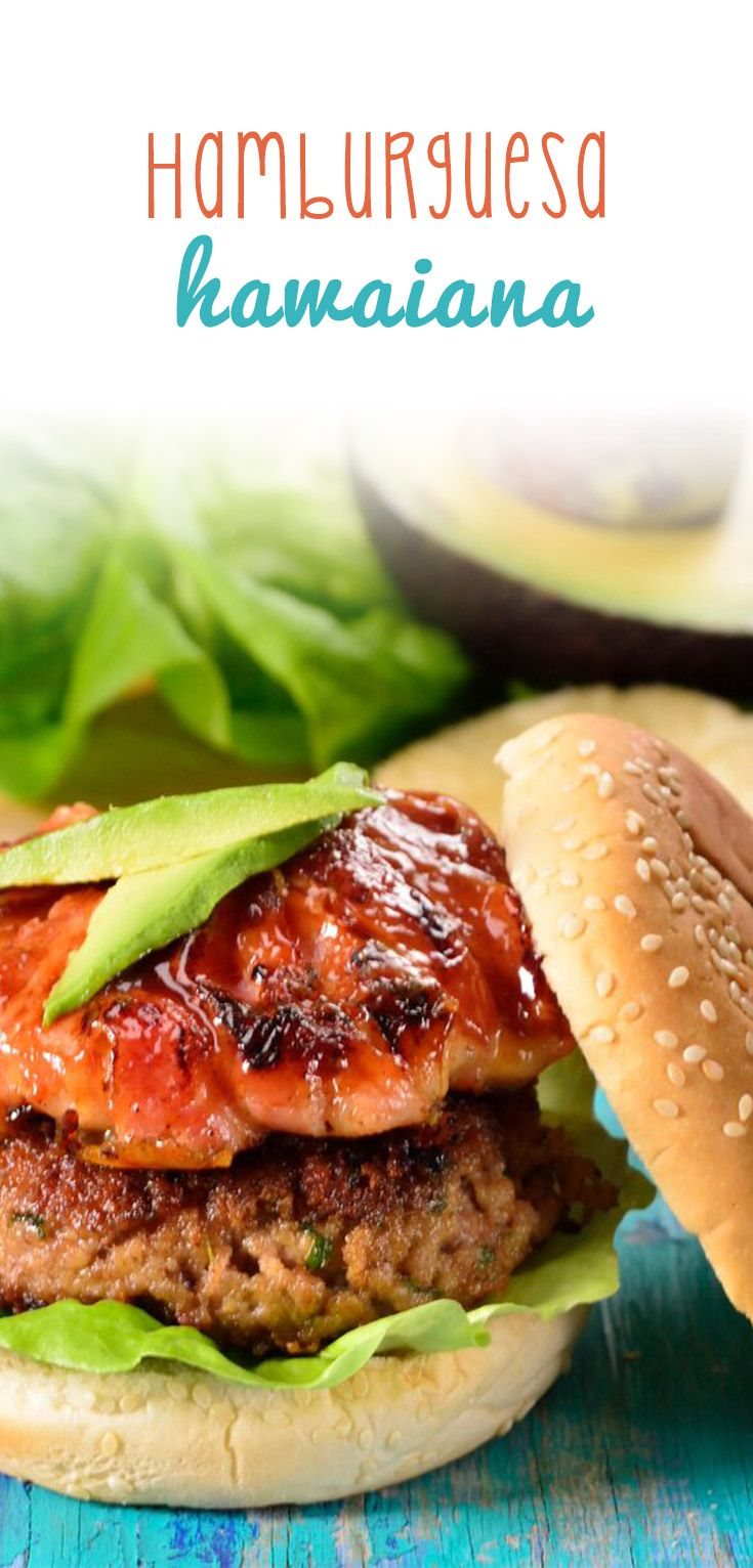Esta hamburguesa hawaiana es perfecta para los amantes de este delicioso platillo, ya que tiene una jugosa carne acompañada de una piña envuelta en crujiente tocino y bañada en salsa bbq casera. ¡No lo podrás creer!