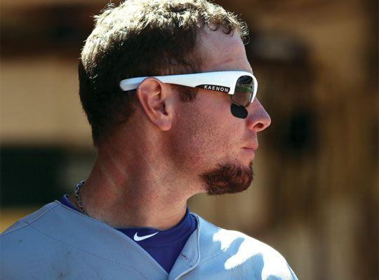 oakley sunglasses for baseball players cheap  homerun ? major league baseball's josh hamilton wears kaenon hard kore from kaenon polarized.