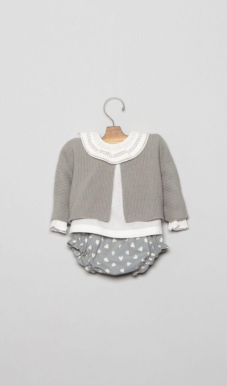 Ropa para Bebés Recién Nacidos | Tienda Online  Nicoli L1601001-pp Bebe