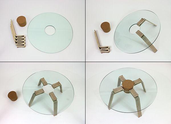 Cork Stopper Table
