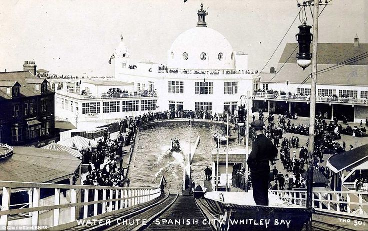 The Spanish City, Whitley Bay which was built by entertainer and businessman Charles Elderton and opened in 1910.By the late 1990s the building had fallen into disrepair, and in the early 2000s it was closed to the public. A renovation project was announced in 2011