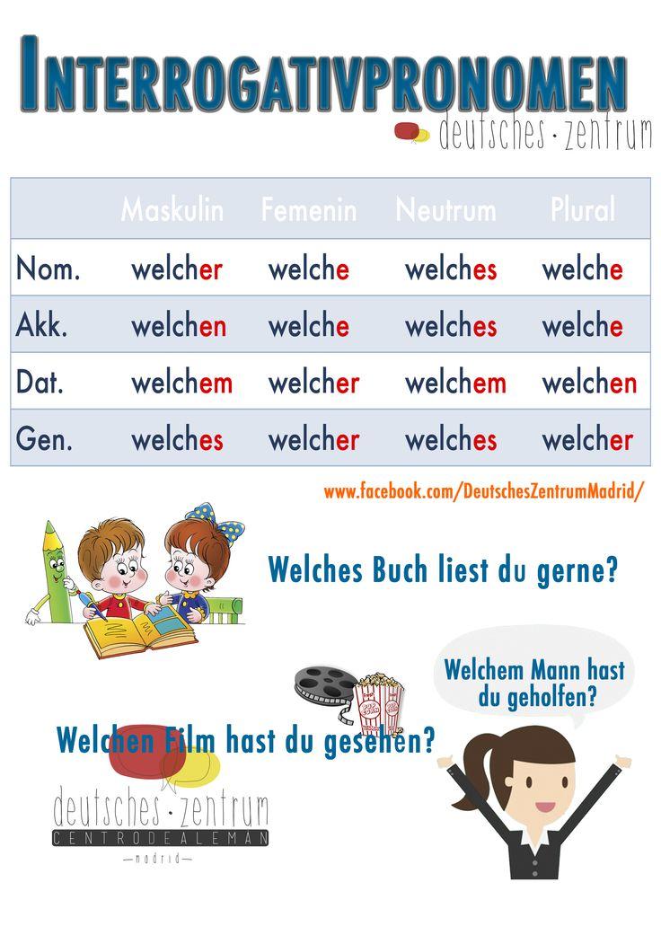 Best 50+ Pronomen images on Pinterest | Learn german, German grammar ...