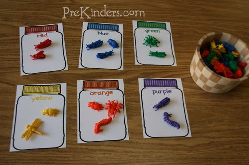 Great way to teach colors and color words