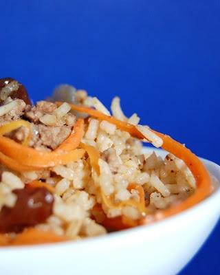Pilau recipe with Lamb (Afghan Rice)