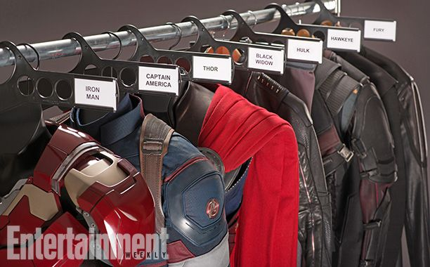 First Official Stills From Marvel And Joss Whedon's AVENGERS: AGE OF ULTRON - (note Nick Fury)