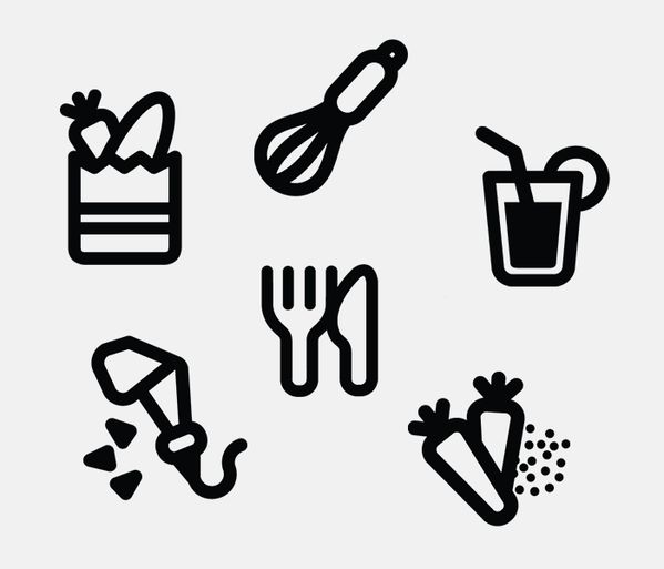 Brastemp Pictograms by David Galasse, via Behance