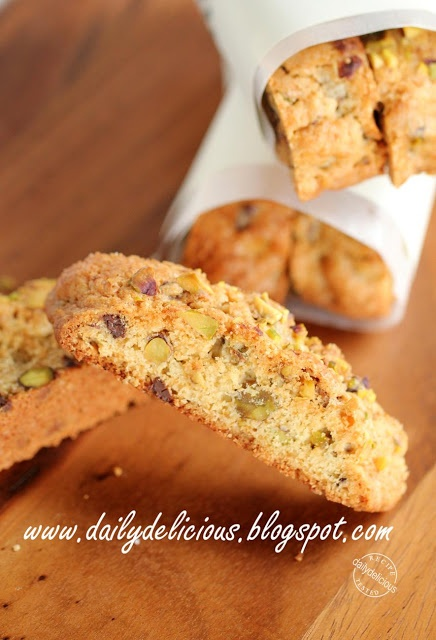 ... Chocolate Chip Biscotti (note to self: dip in melted dark chocolate