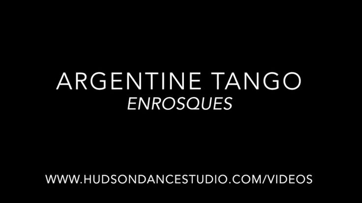 Argentine Tango // Enrosque