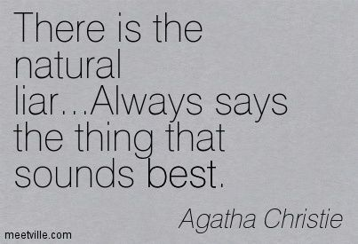 Criminal Minds Quotes and Sayings | Agatha Christie quotes and sayings