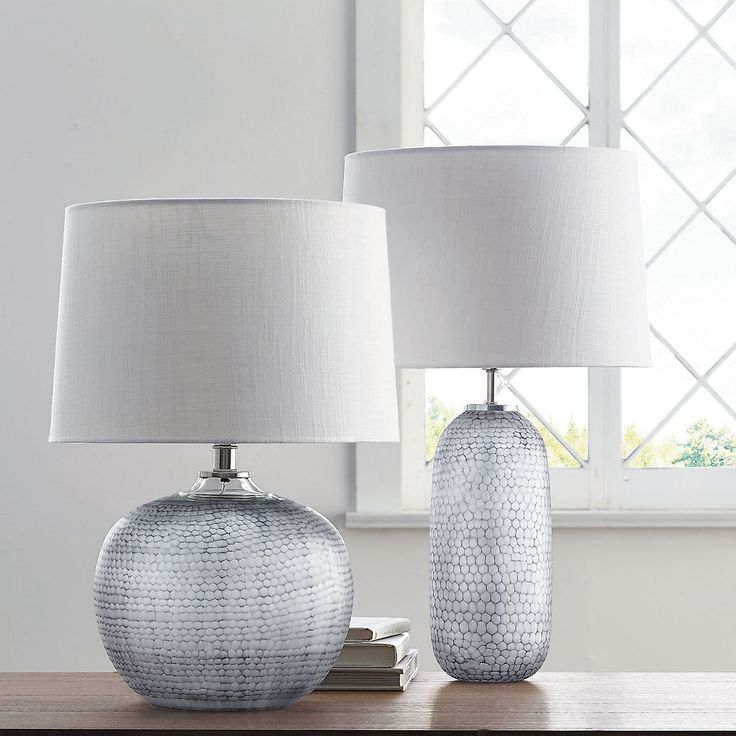 Pebble Textured Glass Table Lamp Collection   Skilled Artisans Craft This Unique  Table Lamp By Hand