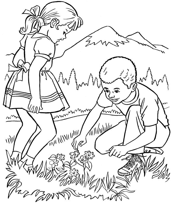 Farm Work and Chores coloring page   Farm wonders of nature
