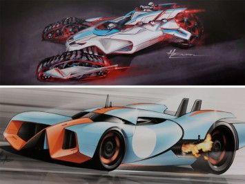 Inside the Hot Wheels Design Studio (4 videos) - Car Body Design
