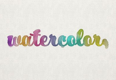 how to create watercolor effect in photoshop