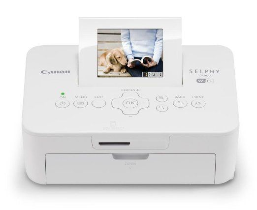 Amazon.com : Canon SELPHY CP900 White Wireless Color Photo Printer : Iphone Printer : Electronics