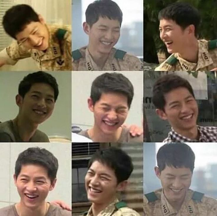 Yoo Si Jin Smile Descendants Of The Sun