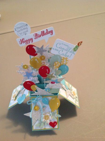 Birthday Box Card