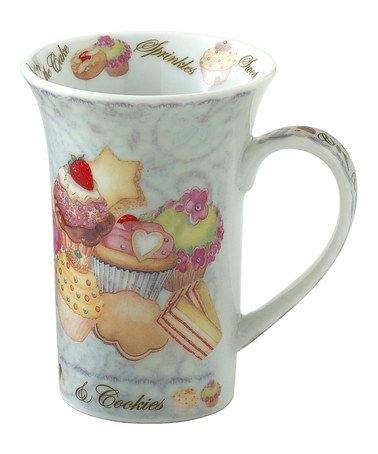 Another Great Find On Zulily Cupcakes Cookies Mug Set Of Four Zulilyfinds Pinterest