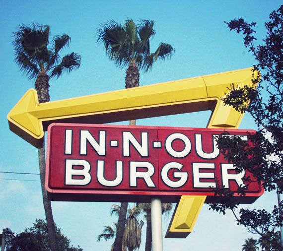 In N Out Burgers = what McDonald's is to the rest of the country. It may not be on the usual 'sights to see' list, but in 1948 this was California's first drive-thru stop and continues to be popular with everyone.