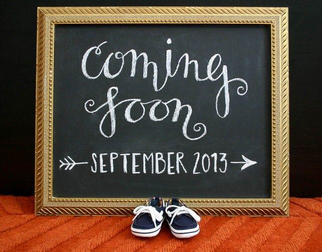 Pregnancy Announcement - SaraSolomonson.com