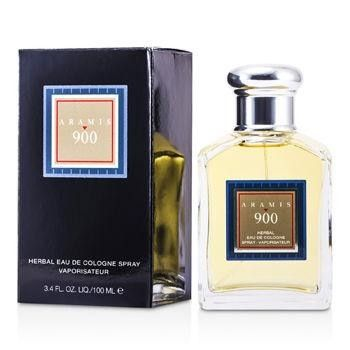 900 Herbal Eau De Cologne Spray - 100ml-3.4oz. -Classified as a flowery & warm fragrance-Masculine, sharp & sensual-Notes of bergamot, orris root, vetiver, moss-Recommended for daytime wearProduct Line: Aramis 900Product Size: 100ml/3.4oz