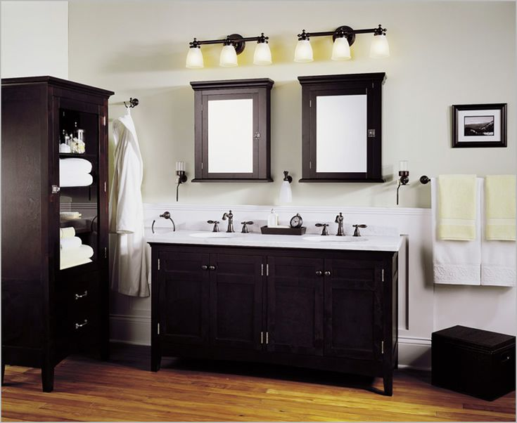 Bathroom lighting fixtures over mirror – For that perfect ambience | Light Decorating Ideas