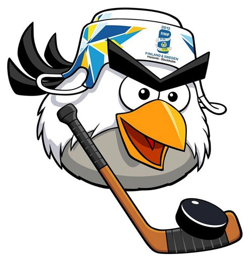 Hockey Bird, official mascot