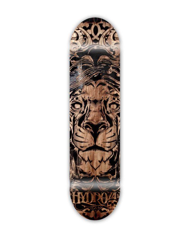Laser Engraved Skateboard Designed by Hydro74. Skateboard DesignSkateboard  DecksSkate DecksCustom ...