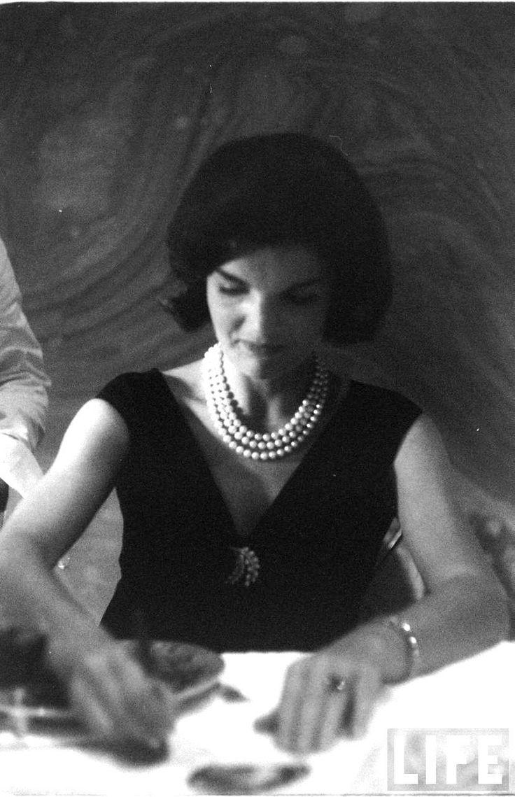 Jackie Kennedy Date Taken 1960