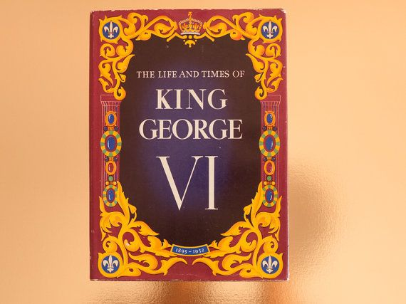 Vintage book: 'The Life and Times of King George by freshdarling