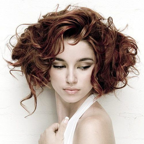 Hair neo-Victorian faux bobbed hair curly