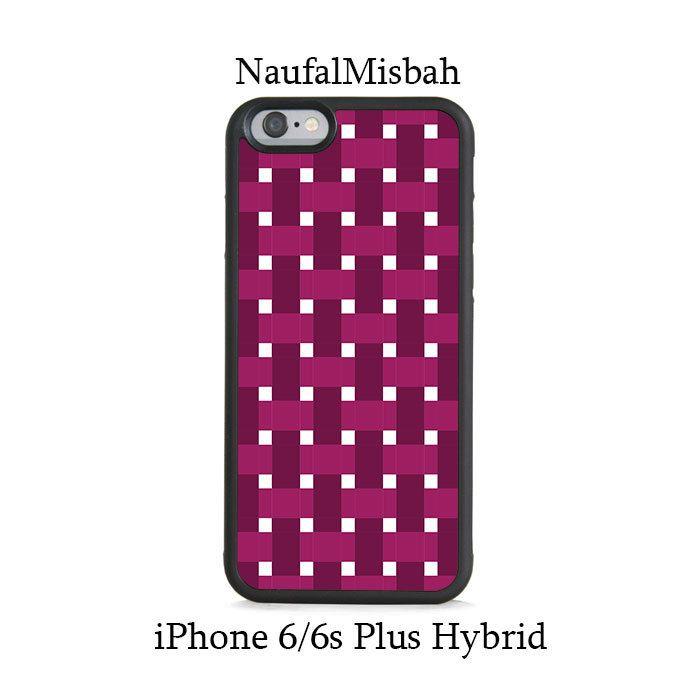 Purple Box Waven iPhone 6/6s PLUS HYBRID Case
