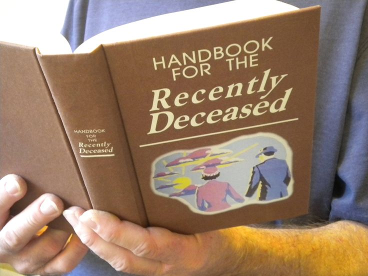Beetlejuice Handbook for the Recently Deceased Book / movie prop / Zombie, Day of the Dead, Undead, Halloween, Geek, Horror, Fun, Tim Burton by n3do on Etsy https://www.etsy.com/listing/96646304/beetlejuice-handbook-for-the-recently