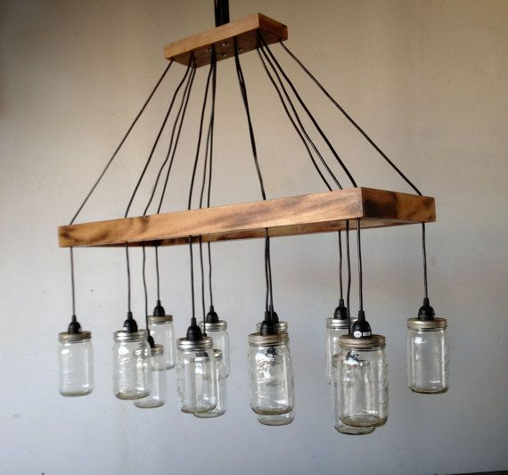 cottage mason jar chandelier. Hey, I Found This Really Awesome Etsy Listing At Https://www. Mason Jar ChandelierBall JarsLighting IdeasCottage Cottage Chandelier
