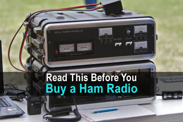 "Ham radio has become an increasingly popular tool for preppers and people living off the grid. While it is a fairly inexpensive hobby to get into (you can buy surprisingly good imported handheld radios for under $30) there are a few things you need to know before you purchase a ham radio. Get a License Seriously. You'll definitely want to do this. I know this runs against the ethos of some political ideologies, or that it's easy to say, ""Well, I'll just buy this and use it in an emergency…"