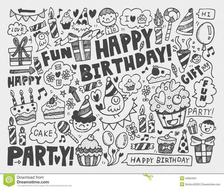 doodle happy birthday - Google Search