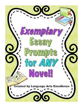generic novel essay prompts