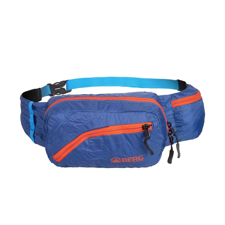 This foldable waist bag is perfect to take on your travels or walks around town when you need some extra space.