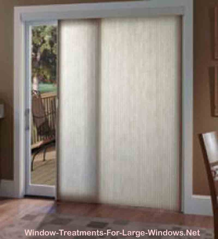 Window Treatments Sliding Patio Door : Best images about window treatments for sliding glass