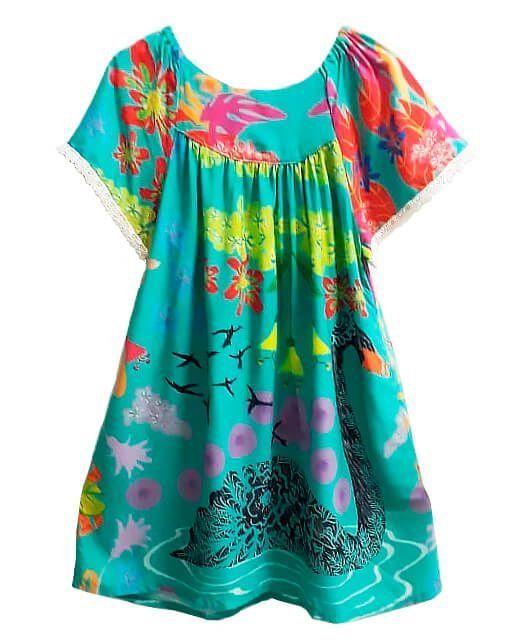 423eb3840a Vestido infantil feminino das meninas Cisne verde