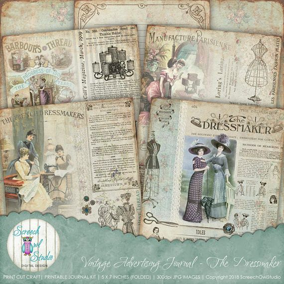 Journal Pages 8 5 X 11 And 5 X 7 Etsy In 2020 Paper Craft Supplies Paper Crafts Junk Journal