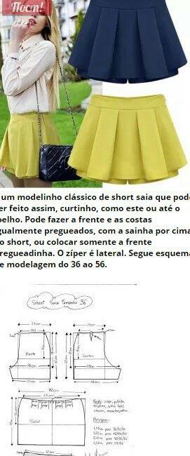 Padded shorts skirt...<3 Deniz <3