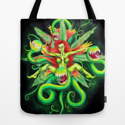 Poison Tote Bag by ReadThisVA - $22.00