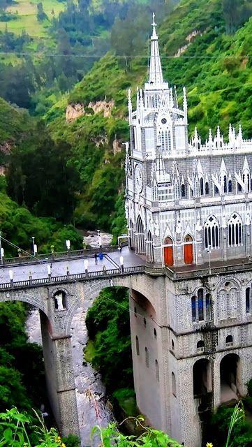 Las Lajas Sanctuary, Kolumbia | totalnie Zewnątrz