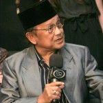 Mantan Presiden BJ Habibie Berharap Indonesia Dipimpin Tokoh Muda